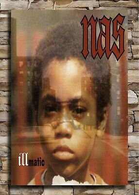 24x36 14x21 40 Poster Nas Time is Illmatic Hip Hop Art Hot P-404