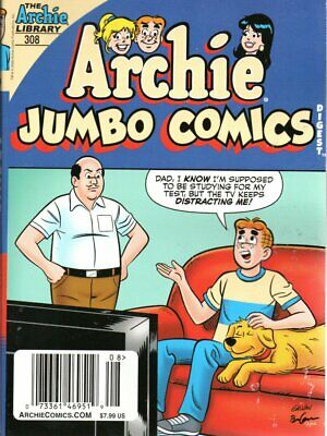 302 October 2019 First Print Archie Jumbo Comics Double Digest No
