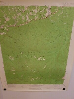 1964 MOUNT LE CONTE, TENN-NC Topographical Map Geological Survey US Interior 27""
