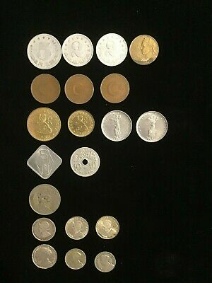 World Coins Group 19 coins with some hight grades.