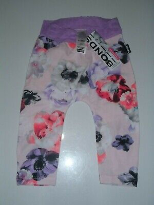 Bonds Ballet Blossom Leggings, Size 0 (6-12 Months) Brand New With Tags
