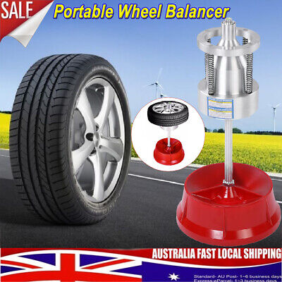 Portable Hubs Wheel Tire Balancer Bubble Level Heavy Duty Rim for Car Truck HOT