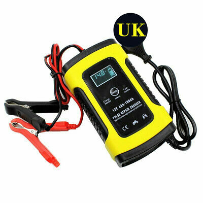 Intelligent Battery Charger 12V 5A Auto Car Motorcycle Battery Charger UK