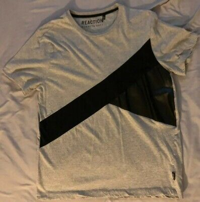Kenneth Cole Reaction Mens Gray T Shirt Size L Pre Own