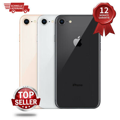 New Apple iPhone 8 64GB Factory Unlocked Smartphone 12M Warranty All Colours