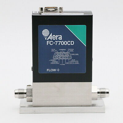 Aera FC-7700CD Mass Flow Controller 2 SLM  Ar