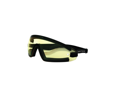 Lunettes Bobster Moto-Scooter-Wrap Jaune-2601-0270
