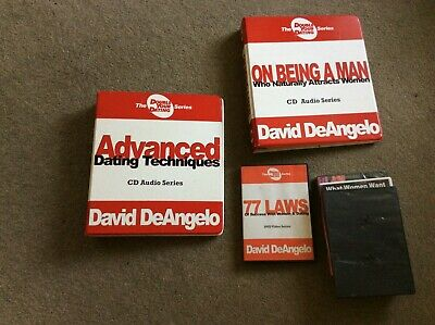 David DeAngelo DVD and CD, double your dating bundle plus a couple of extras