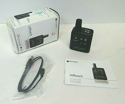 DELORME INREACH 2-WAY SATELLITE COMMUNICATOR W/ GPS -Android & iOS-Free Shipping