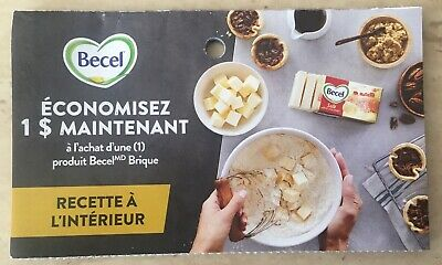Lot of 10 x 1.00$ Becel Products Coupons Canada