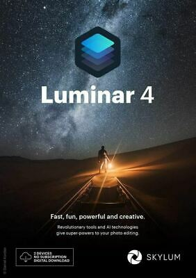 🔥 Luminar v4 2019 ✅ Lifetime Activated 🔑 Full Version 🔥 Fast Delivery ✅