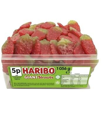 1 x FULL TUB OF HARIBO SWEETS DISCOUNT FAVOURS TREATS PARTY CANDY BOX