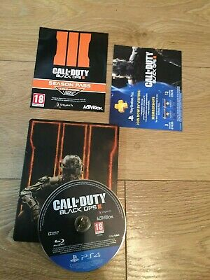 Call of Duty BLACK OPS III 3 - PS4  1st Class FAST & FREE Delivery METAL CASE