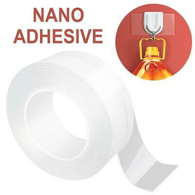 Double-Sided Nano Magic Tape Traceless Clear Adhesive Invisible Gel Anti-Slip