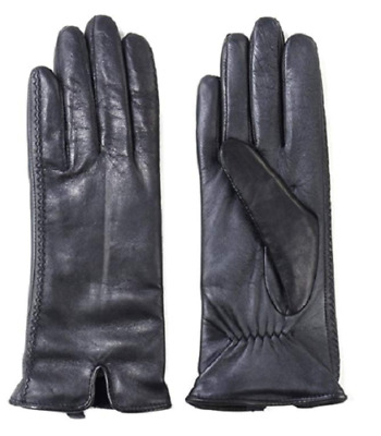 NEW!!! Fownes Brothers Women's Leather Gloves, Black, Sz: S & M & L