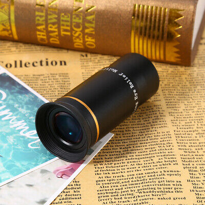 "1.25"" 6mm 66°Ultra Wide Eyepiece Lens Fully Multi-coated ES For Telescope AU"