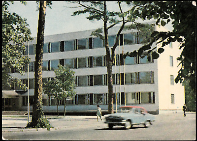 Latvia Building of the Jurmala Executive Committee Postcard