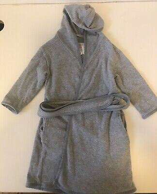 PUREBABY - Boys/ Girls Dressing Gown, Size 3-4, As New