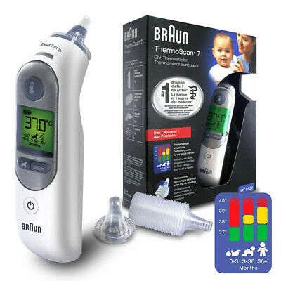 Braun ThermoScan 7 IRT6520 baby Professional Digital Ear Thermometer