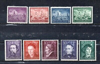 8) Nazi Occupation Of Poland All-Different MNH Selection