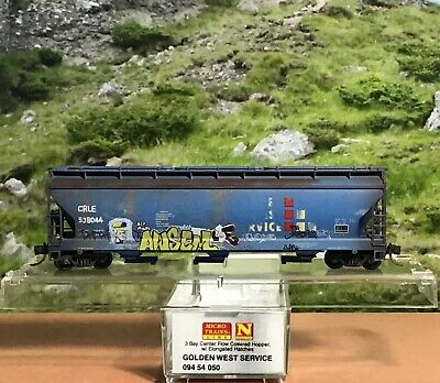 Micro-Trains MTL N Great Northern Weathered 3 pack Covd Hoppers 09244170