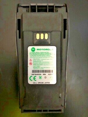 Motorola PMNN4069 submersible Intrinsically Safe Replacement FM OEM Battery