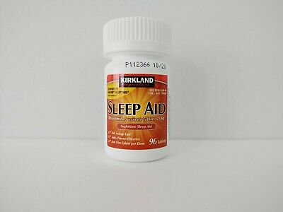 New Sleep Aid Kirkland 96 Tablets 25 mg new without package