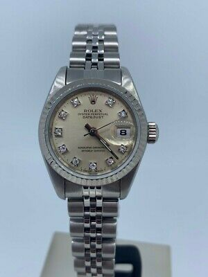 Ladies Rolex DateJust in Stainless Steel