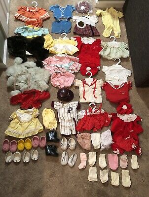 Huge Lot Of Vintage Cabbage Patch Kids Dolls Clothing Collection CPK