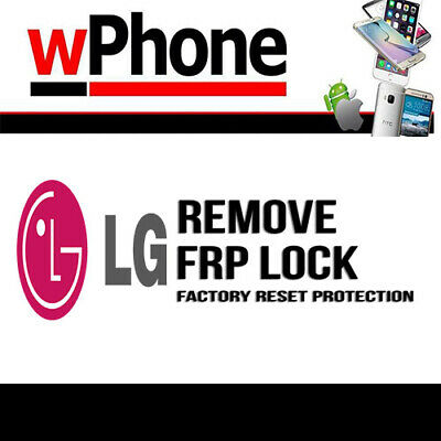 INSTANT Remote Service Google Account Removal Reset FRP Bypass LG
