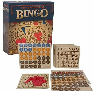 Traditions Bingo Set Multiplayer Board Game Adults Children Teenagers Puzzle NEW