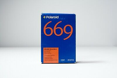 20 Photo Color Instant Pack Film Polaroid 669 ISO 80/20 Sealed Ex. 5/2008
