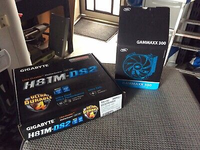 gigabyte motherboard 1150 CPU And 16gb ram Combo