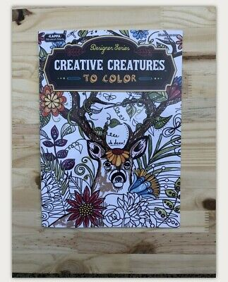 Adult Coloring Book Animals Relaxing Chill Out QuarantIne Stress Relief NWOT NEW