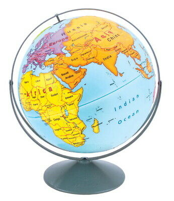 Nystrom Raised Relief Early Learning Globe, 12 Inch Diameter