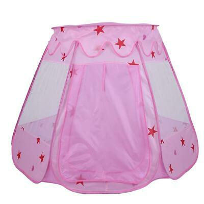 Pink Childrens Kids Baby Pop Up Play Outdoor Tent Fairy Girls Boys Playhouse UK