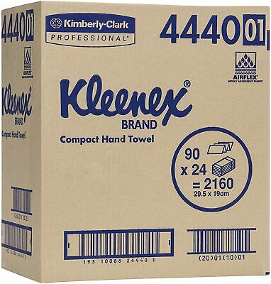 Kleenex 4440 Paper Hand Towel 20 pack Carton (90pcs/pack)