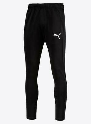 PUMA Mens Black Tricot Tracksuit Pants Bottoms Small BNWOT