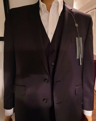Mens Kenneth Cole Reaction Three Piece Suit