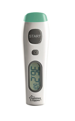 Tommee Tippee No Touch Digital Thermometer 0M+, Accurate Reading from Forehead