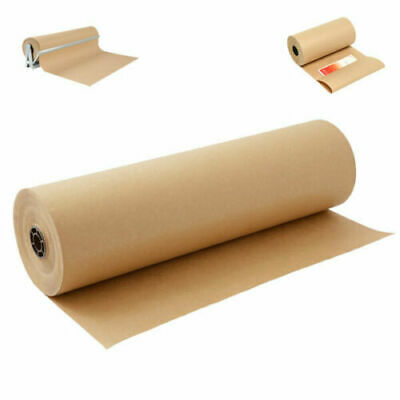 Strong Brown Kraft Paper Roll Sheets 450 500 600 750 900mm / ALL LENGTH 90gsm