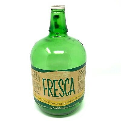 Fresca Vintage Glass Jar/Jug  |  Vintage Decor