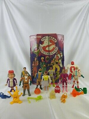 The Real Ghostbusters Collectors Case With Figures and Accessories