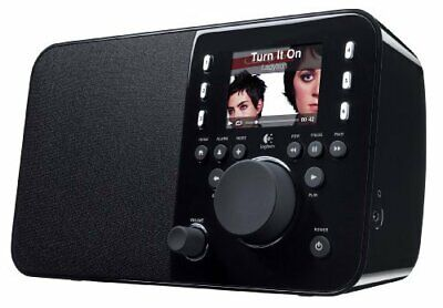 New Logitech Squeezebox Radio Music Player with Color Screen (Black)