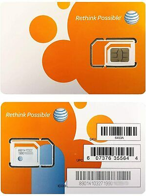 AT&T Grandfathered Unlimited Data Plan 4G LTE XLTE  (Sim Only $99/month)