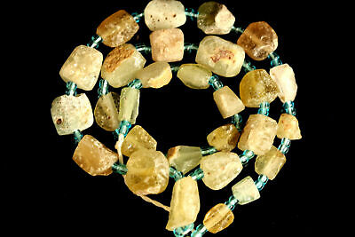 Roamn Glass Beads, Ancient Collectable Beads Strand,