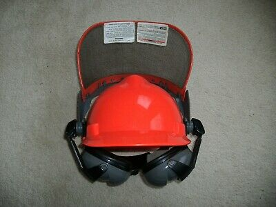 MSA Professional Forestry Safety Helmet and Hearing Protection System