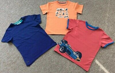 Boys T-Shirt Bundle Age 6-7 Years Inc. Fat Face, Ted Baker, Kite Clothing.