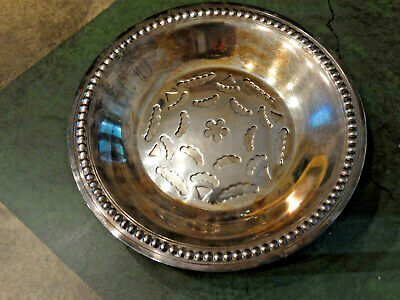 Coquillor French Silver Plate Butter Press