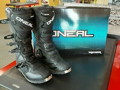 ONeal Element Black Boots Size 12